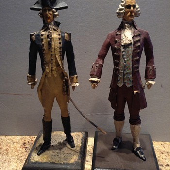 George Washington figures - Figurines