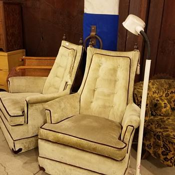Hi back chairs
