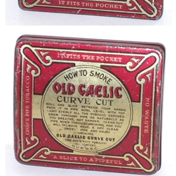 old gaelic curve cut  pipe tobacco rock city  quebec