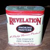 REVELATION TOBACCO TIN PHILIP MORRIS 2 1/8 OUNCE TIN
