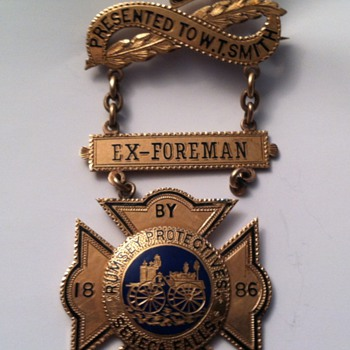 Rumsey Protectives Service Medal - Medals Pins and Badges