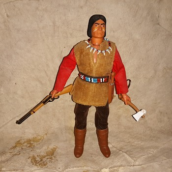 Gabriel Lone Ranger Series Red Sleeves Fierce Apache Noble Foe of the Lone Ranger - Toys