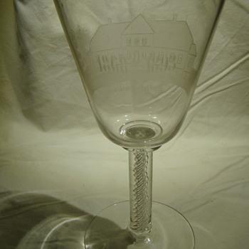 Overdrevsgaarden commemorative chalice - Art Glass