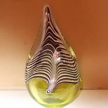 Art Glass paperweight - Art Glass