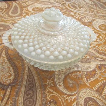 Hobnail Love - Glassware