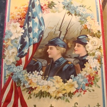 GAR Postal Card. Lest We Forget. - Postcards