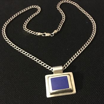 Silver pendant  - Fine Jewelry