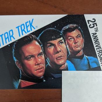 Star Trek card. - Movies