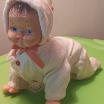 Rosko Toy battery oper crawling baby doll Japan