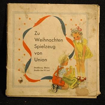 ancien catalogue de jouets MAGASIN UNION -STRASBOURG, vers 1940 - Paper