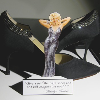 Marilyn Monroe . . . 'High Heels with Rhinestones'