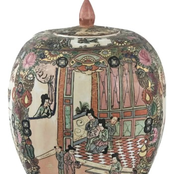 Newly purchased Chinese pottery  - Asian