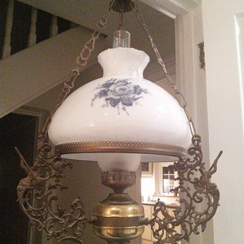 Electric oil type I think library lamp - Lamps