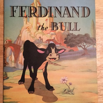 """Ferdinand the Bull"" Book - 1938"