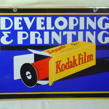 Art Deco Kodak Film Sign - Signs