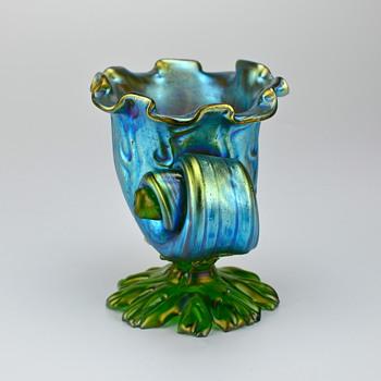 Loetz Neptune Seashell, circa 1899 - Art Nouveau