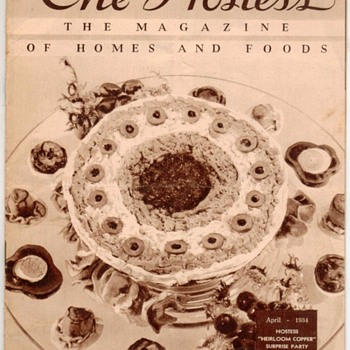"1934 - ""The Hostess"" Recipes Magazine - Books"