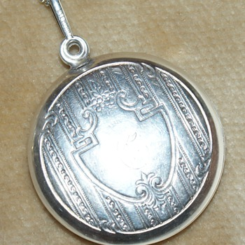 Sterling Silver Pendant and Mirror - Fine Jewelry