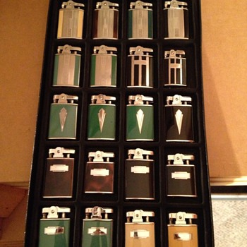 Colored Ronson Lighters