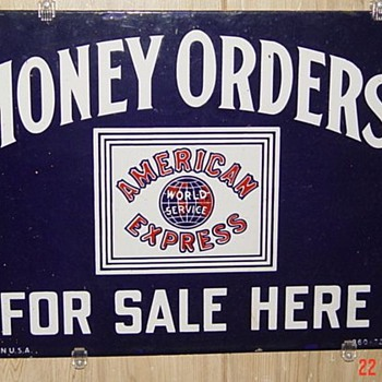 American Express Money Orders - Advertising