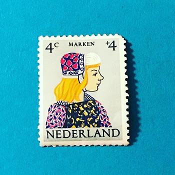 1960 Dutchmen Stamp - Stamps