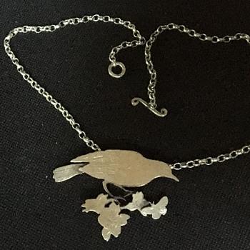 Vintage silver necklace  - Fine Jewelry