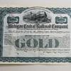 Railroad Stock Certificates