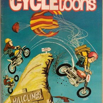 "1968 - ""CYCLEtoons"" Magazine"