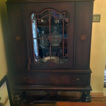 Buffet and China cabinet