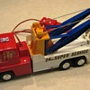 Battery-Operated Twin-Boom 24-Hour Super Service Tow Truck