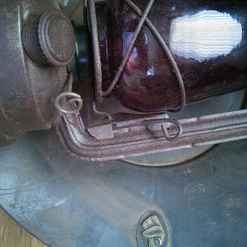Remington oil lamp display ? - Lamps
