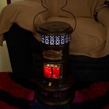 Kerosene heater Converted to lamp - Lamps