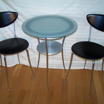 60's Cafe Table & Chair set  - Mid-Century Modern