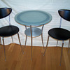 60's Cafe Table & Chair set