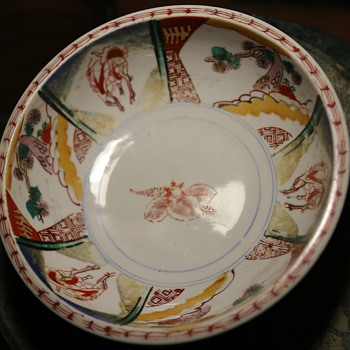 Imari Bowl - Thick and nicely painted