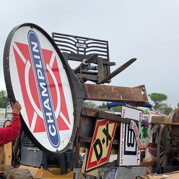 Champlin Oil Company - Signs