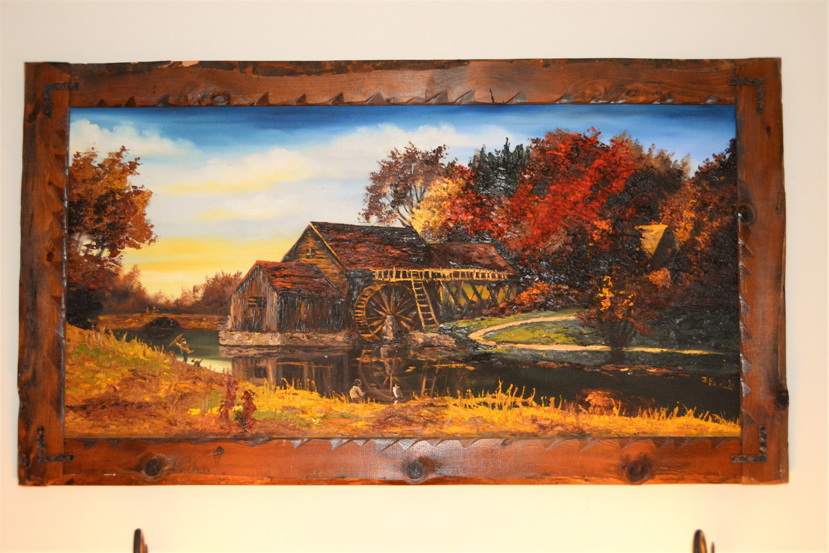 Painting Signed J Fevoli Collectors Weekly