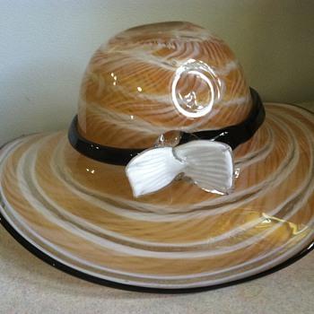 Glass Hat - Bowl - Art Glass