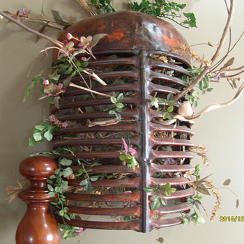 Old Case Tractor Grill