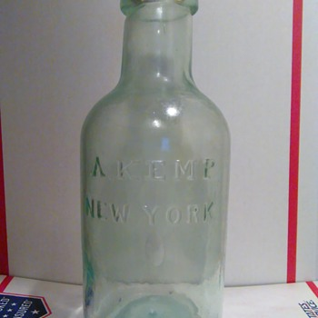 A. Kemp New York  - Bottles