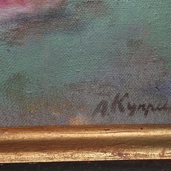 Alexander kuprin - Fine Art