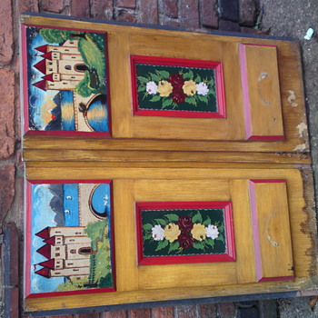 Narrowboat folk art - Folk Art