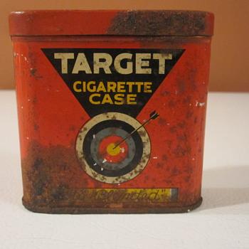 Vintage Target Cigarette Case - Tobacciana