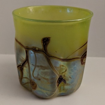 Modern Art Glass Vase - Signed - Satin Glass? - Art Glass