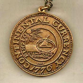 """Bicentennial """"Fugio"""" Pendant - US Coins"""