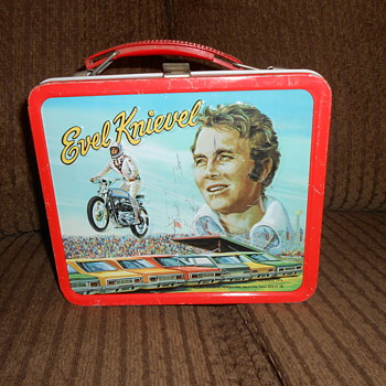 evel  knievel lunck box - Motorcycles