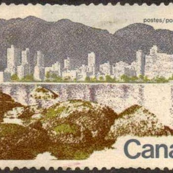 "1973 - Canada ""Vancouver"" Postage Stamp"