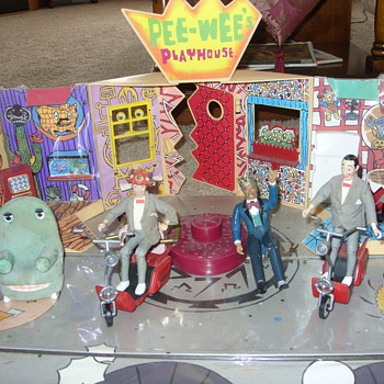 vintage pee wee herman playhouse - Toys