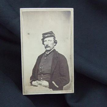 Weathered Civil War veteran from Wisconsin