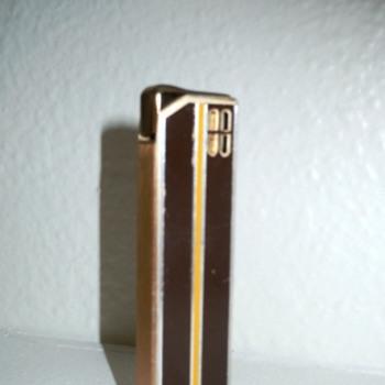 Colibri Vintage/Deco Style Lighter - 1970s - Tobacciana